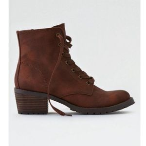 Brown Lace up American Eagle boot